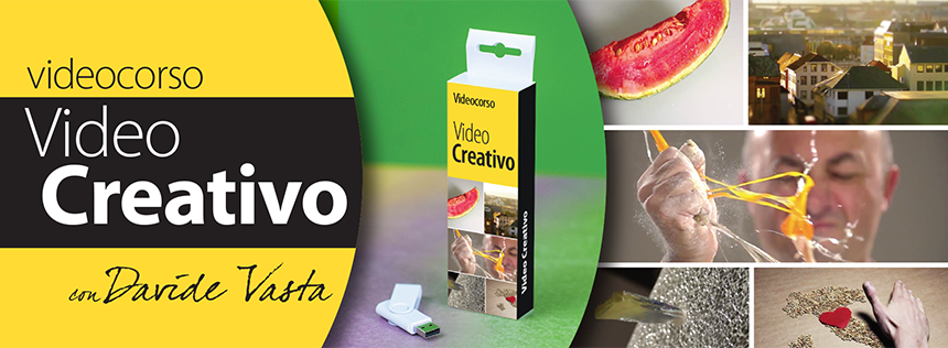 videocorso online effetti speciali video creativo time lapse hyper lapse slow motion time remap motion tracking green screen filmati creativ practical effects effetti visuali